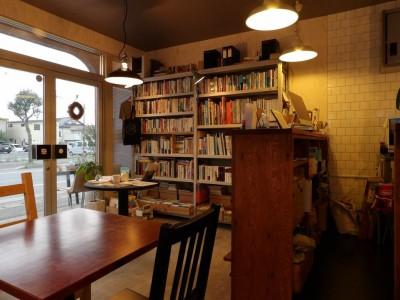 ブックカフェ「North Lake Cafe & Books」