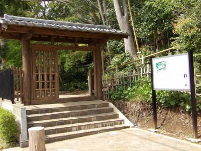 旧村川別荘入口