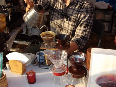 手賀沼公園 移動型カフェ『カフェ デル シエロ』